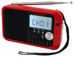First Alert - AM/FM Weather Band Clock Radio - Red