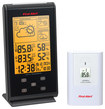 First Alert - Radio-Controlled Wireless Weather Station - Black