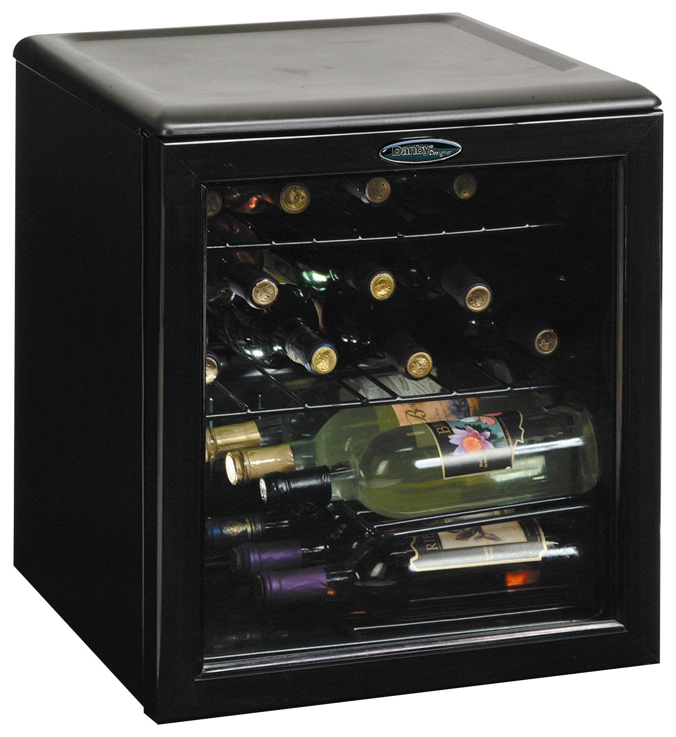 Click here for Danby - Designer 17-bottle Wine Cellar - Black prices