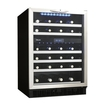 Danby - Silhouette 51-Bottle Wine Cellar - Black