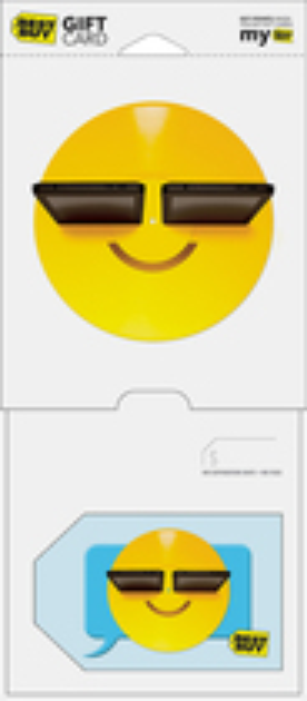 Best Buy Gc - $25 Happy Emoji Gift Card