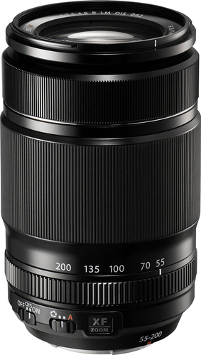 Fujifilm - Fujinon XF 55-200mm f/3.5-4.8 R LM OIS Telephoto Zoom Lens for Select X-Series Cameras - Black