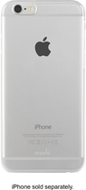 Moshi - iGlaze XT Snap-On Case for Apple® iPhone® 6 - Transparent