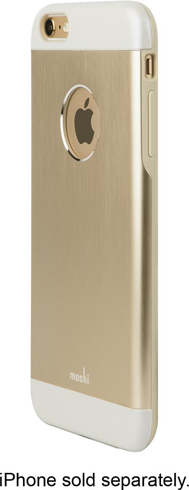 Moshi - iGlaze Armour Case for Apple® iPhone® 6 - Satin Gold