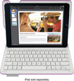 Logitech - Type+ Bluetooth Keyboard Case for Apple® iPad® Air 2 - Violet