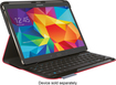 Logitech - Type - S Keyboard Case for Samsung Galaxy Tab S 10.5 - Bright Red