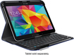 Logitech - Keyboard Folio for Samsung Galaxy Tab 4 10.1 - Dark Blue