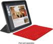 Logitech - Keys-To-Go Portable Keyboard for Apple® iPad® - Red