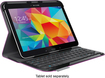 Logitech - Keyboard Folio for Samsung Galaxy Tab 4 10.1 - Purple