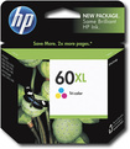 HP - 60XL High-Yield Ink Cartridge - Cyan/Magenta/Yellow