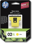 HP - 02XL Ink Cartridge - Yellow