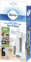 Febreze - Febreze Hepa-type Air Purifier Filter - White 9498133