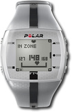 Polar - FT4 Men's Heart Rate Monitor - Silver/Black