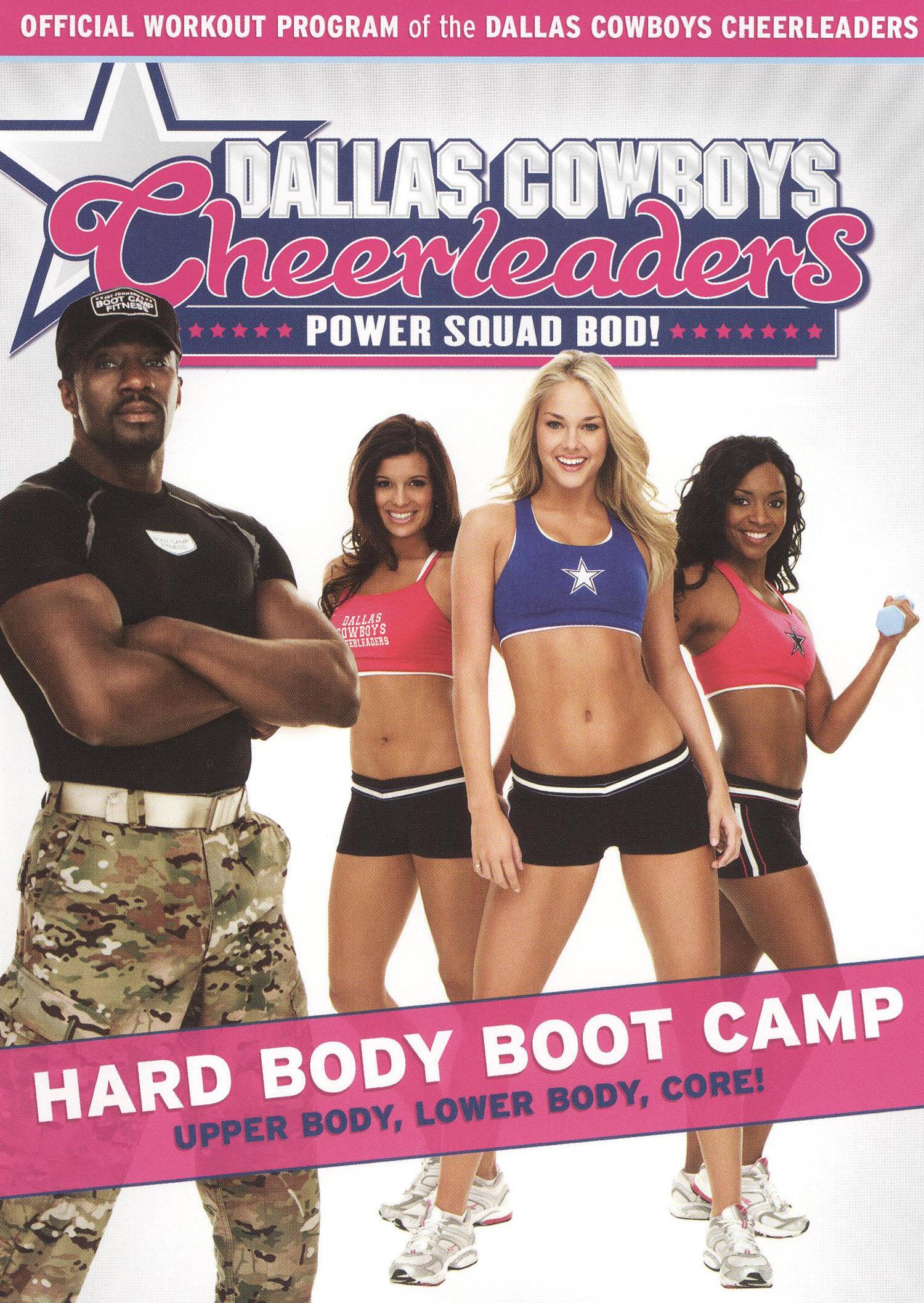 Dallas Cowboys Cheerleaders: Power Squad Bod! - Hard Body Boot Camp (dvd) 9505449