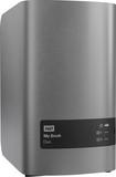 WD - My Book Duo 12TB External USB 3.0 Dual-Drive RAID Storage - Silver/Gray