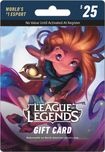 Riot Games - League of Legends Game Card ($25) - Black