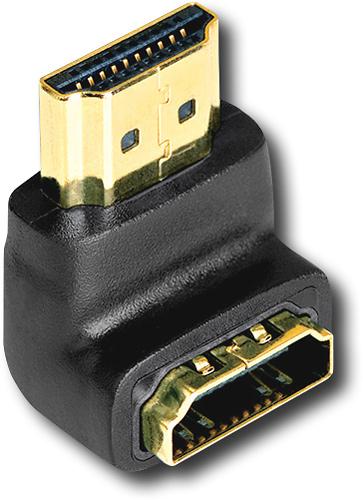 AudioQuest - 90° Narrow HDMI Adapter - Black