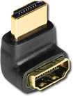 AudioQuest - 90¿ Wide HDMI Adapter - Black