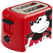 Disney - Mickey Mouse 2-Slice Toaster - Red/White