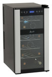 Avanti - 18-Bottle Wine Cooler - Black