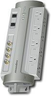 Panamax - 8-Outlet Power Conditioner/Surge Protector - Gray