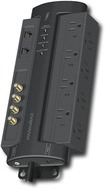 Panamax - 8-Outlet Power Conditioner/Surge Protector - Black