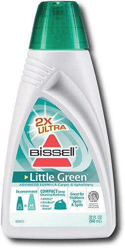 BISSELL - 32 oz. 2X Ultra Little Green Advanced Formula Carpet & Upholstery Cleaner - Green