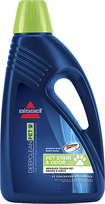 Bissel - 60 oz. 2X Ultra Pet & Odor Advanced Formula Carpet & Upholstery Cleaner - Blue