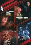 A Nightmare On Elm Street 5-8: 4 Film Favorites [2 Discs] (dvd) 9536282