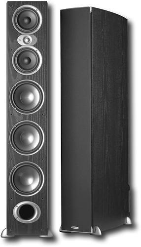 """Polk Audio - 7"""" 3-Way Floor Speaker (Each) - Black"""