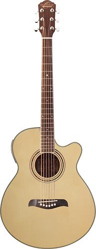 Oscar Schmidt - 6-String Full-Size Acoustic/Electric Guitar - Natural