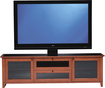 "BDI - Novia TV Stand for Flat-Panel TVs Up to 75"" - Cherry"