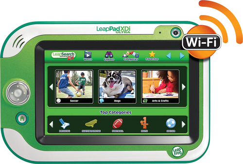 LeapFrog - LeapPad Ultra XDi Learning Tablet - Green
