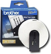"Brother - 1-1/2"" x 3-1/2"" Address Paper Labels (400-Pack) - White"