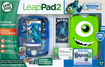 LeapFrog - LeapPad2 Monsters U Bundle - Blue