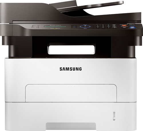 Samsung - SL-M2885FW Xpress Black-and-White All-In-One Laser Printer - White