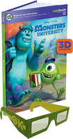 LeapFrog - Disney/Pixar Monsters University 3D Book - Multi