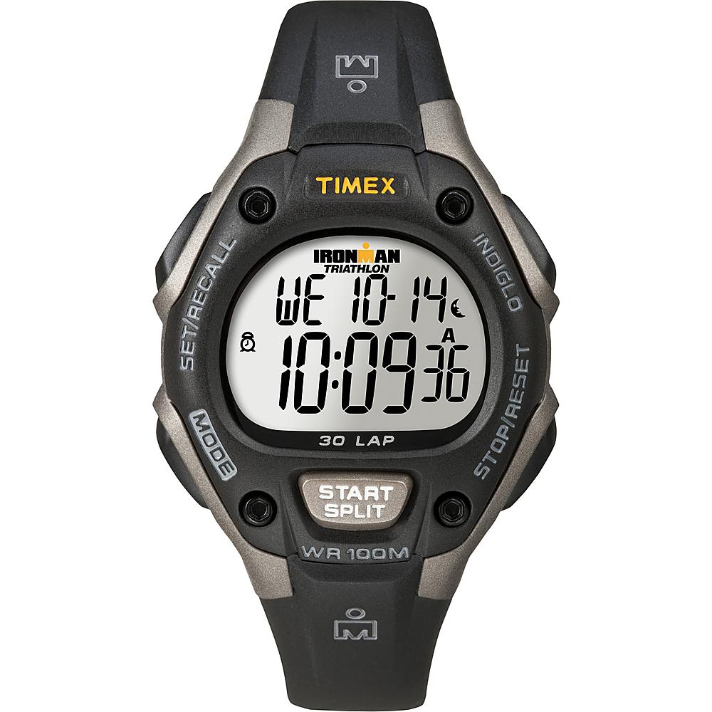 Timex - Ironman 30-Lap Sports Watch - Black/Gray