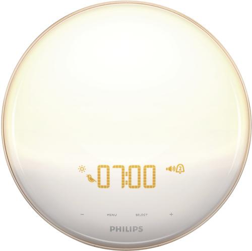 Philips - Wake-Up Light - White/Gray