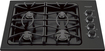 "Frigidaire - Gallery 30"" Built-In Gas Cooktop - Black Matte"