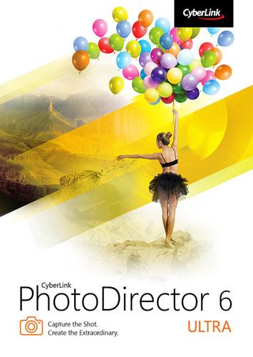 CyberLink PhotoDirector 6 Ultra - Mac/Windows