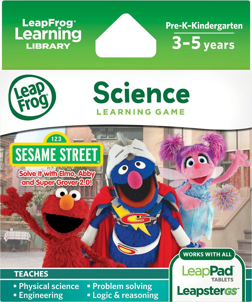 LeapFrog - Sesame Street: Solve It with Elmo, Abby & Super Grover 2.0 Learning Game