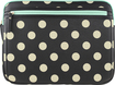 Studio C - Hot to Trot Laptop Sleeve - Black/Ivory/Coral