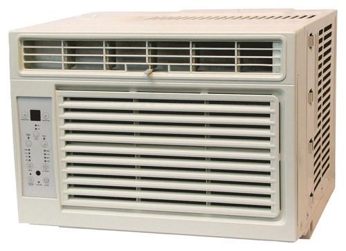 Heat Controller - 6,000 BTU Window Air Conditioner - White