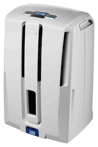 DeLonghi - 70-Pint Dehumidifier - White