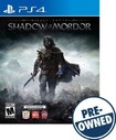 Middle-earth: Shadow Of Mordor - Pre-owned - Playstation 4