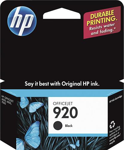HP - 920 Ink Cartridge - Black
