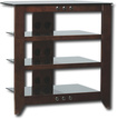 Sanus - Natural Foundations A/V Series 4-Shelf System - Mocha