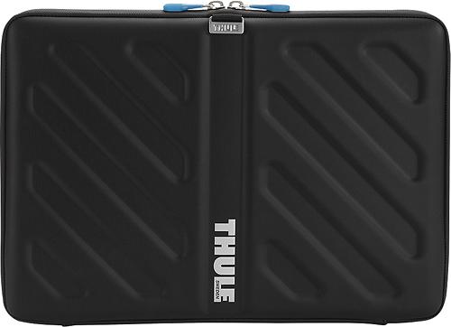 """Thule - Gauntlet Sleeve for 15"""" Apple® MacBook® Pro - Black"""