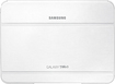 Samsung - Book Cover For Samsung Galaxy Tab 3 10.1 - White